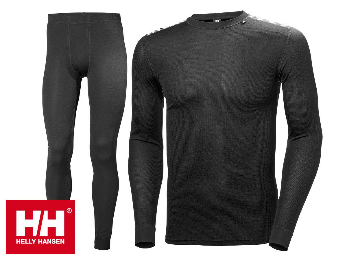 Helly Hansen HH COMFORT LIGHT SET férfi aláöltözet szett - Lifa® Stay Dry technológia, mely szárazon tartja bőröd