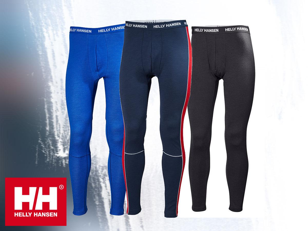 Helly Hansen HH LIFA MERINO PANT férfi aláöltözet nadrág - Lifa®Stay Warm technológia, 100%-os tisztaságú merinó gyapjú és technikai anyag kombinációja