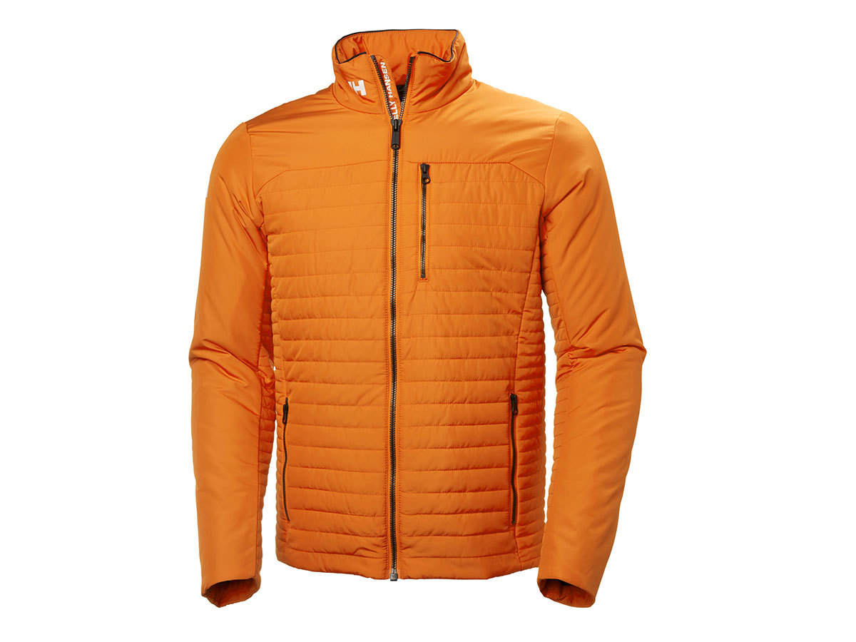 Helly Hansen CREW INSULATOR JACKET - ORANGE PEEL - XL (54344_205-XL )
