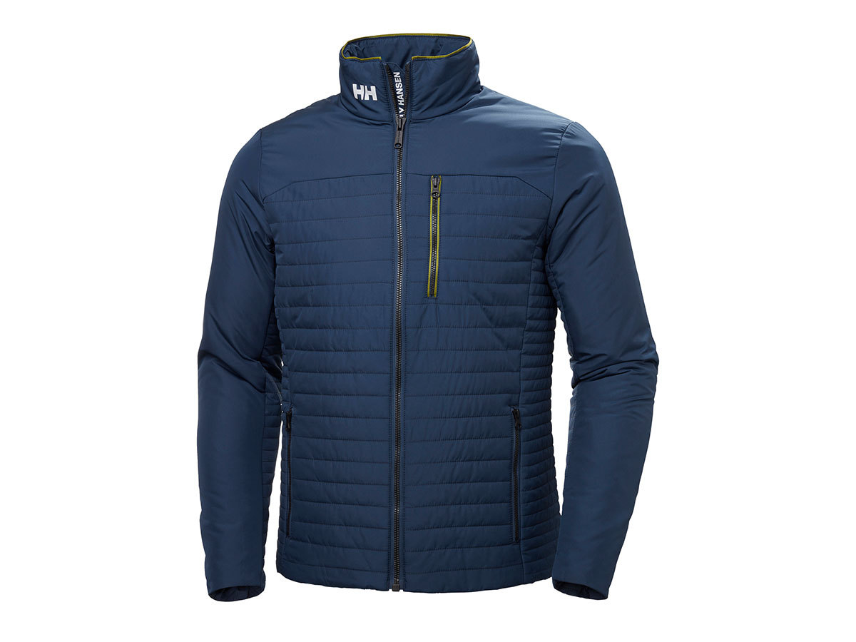 Helly Hansen CREW INSULATOR JACKET - NORTH SEA BLUE - S (54344_603-S )
