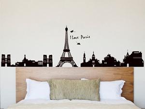 Párizs falmatrica (Az Eiffel torony 70 cm magas)