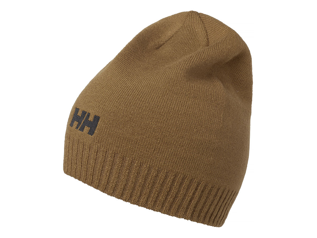 Helly Hansen BRAND BEANIE - CEDAR BROWN - STD (57502_719-STD )