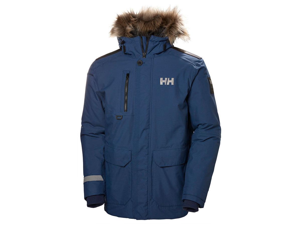 Helly Hansen SVALBARD PARKA - NORTH SEA BLUE - XXL (53150_603-2XL )