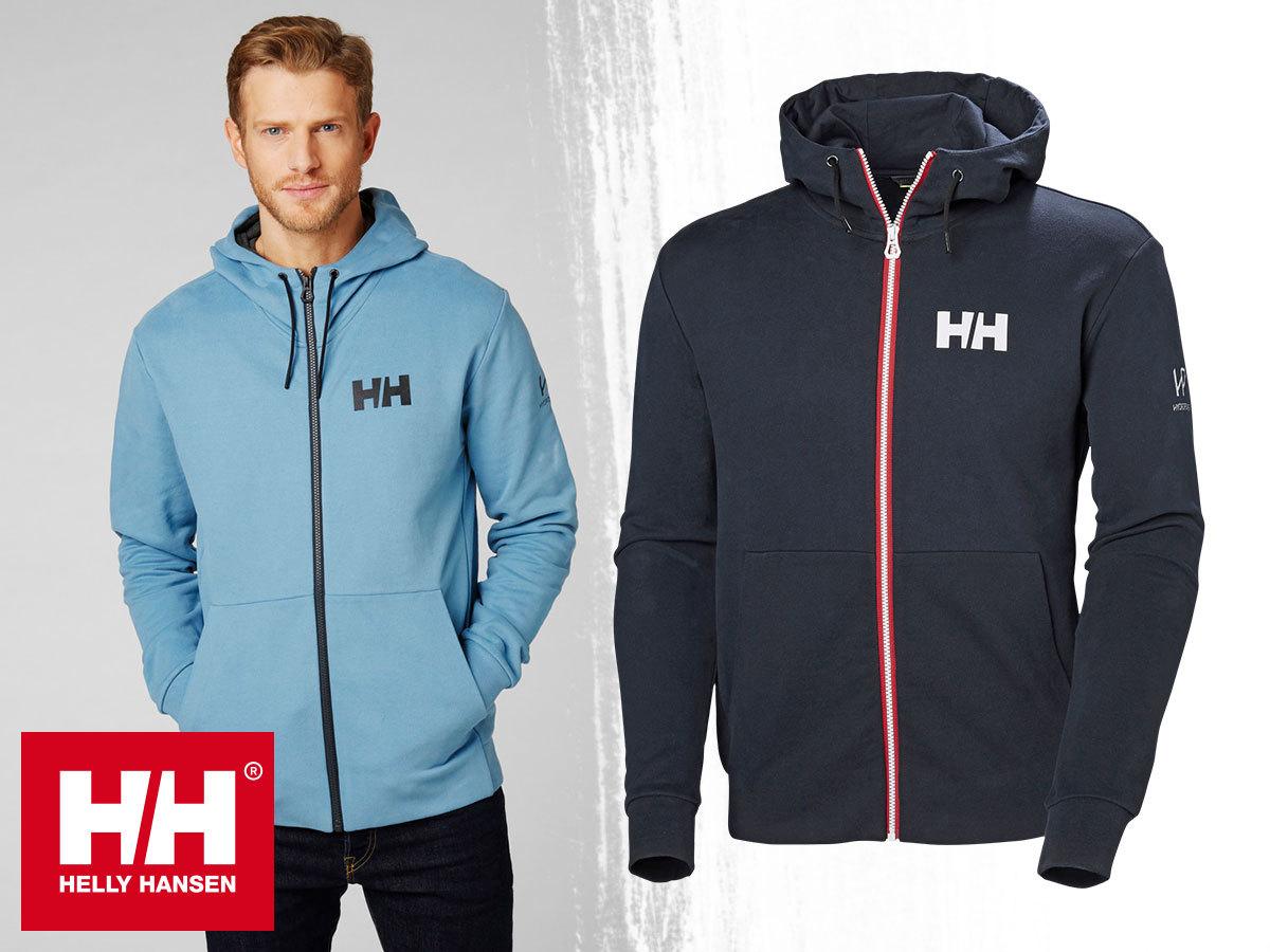 Helly Hansen HP ATLANTIC FZ HOODIE kapucnis pulóver férfiaknak S-XXL méretben, meleg pamut anyagból