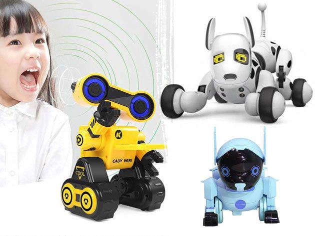 Intelligens robotkutya távirányítható kedvenc - ajándék kicsiknek és nagyoknak