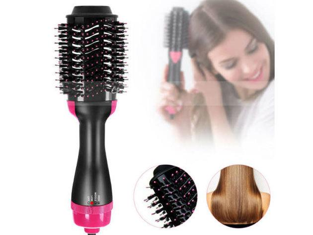 Hajszárító és hajformázó fésű 2in1 - One step Hair dryer a loknikhoz, hullámokhoz vagy épp egyenes szálakhoz