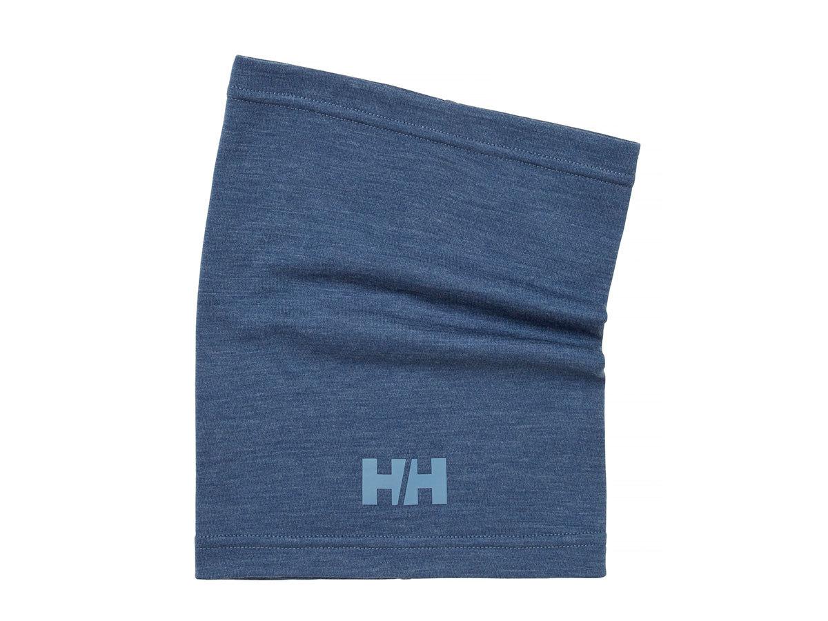 Helly Hansen HH MERINO NECK - NORTH SEA BLUE MELANGE - STD (67306_604-STD ) - AZONNAL ÁTVEHETŐ