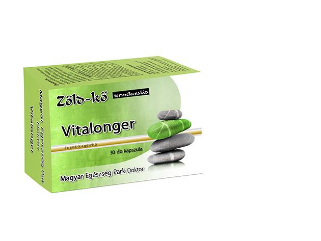 Zöld-kő Vitalonger kapszula (2 doboz, 2x30 db)