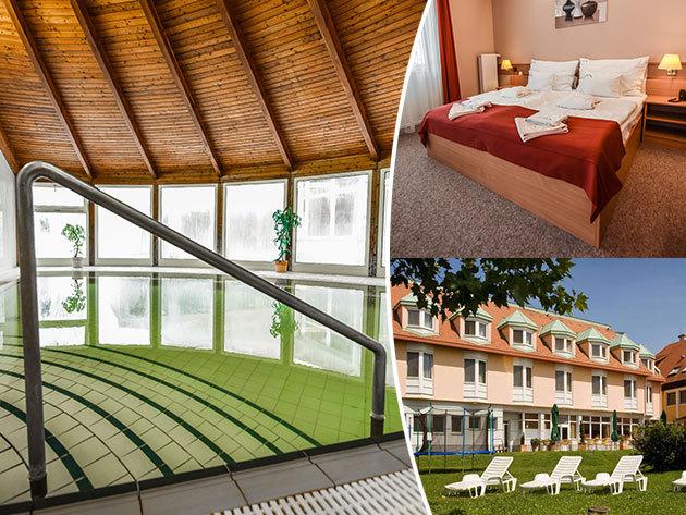AQUA Hotel Termál Mosonmagyaróvár  - szállás 3 nap 2 éjszakára 2 fő részére félpanzióval és wellnesszel