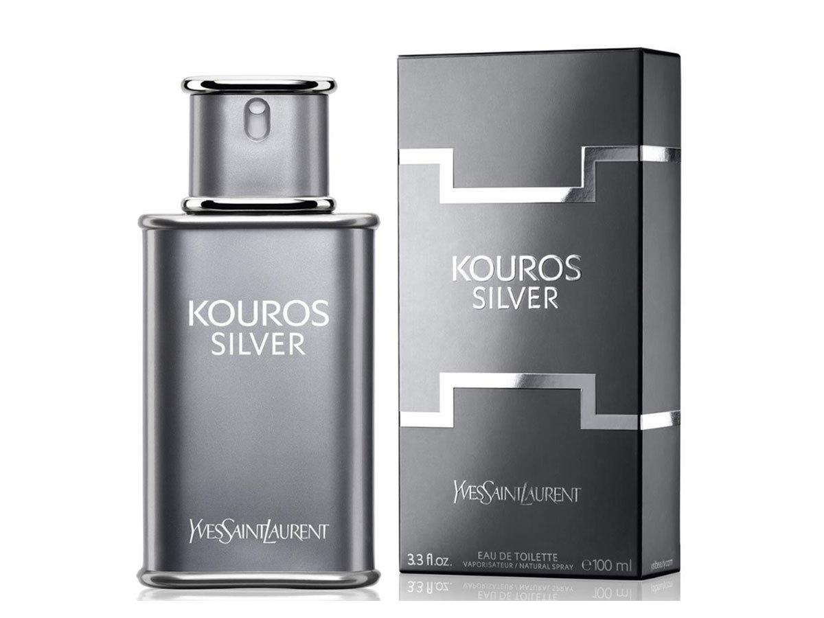 Yves Saint Laurent - Kouros Silver Eau De Toilette férfiaknak (100 ml)