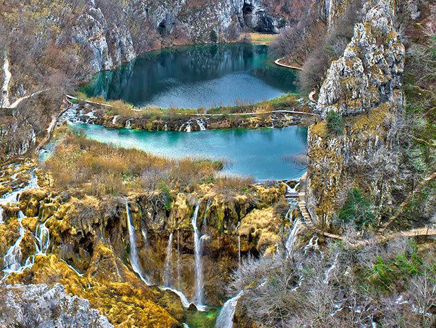 2020.02.15. Plitvicei tavak - buszos kirándulás Horvátország káprázatos tórendszeréhez / fő
