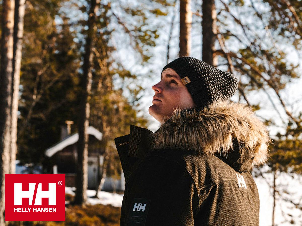 Helly Hansen LONGYEAR II PARKA prémium férfi téli kabát, kapucnival, pehely töltettel, Life Pocket™ zsebbel telefonod számára