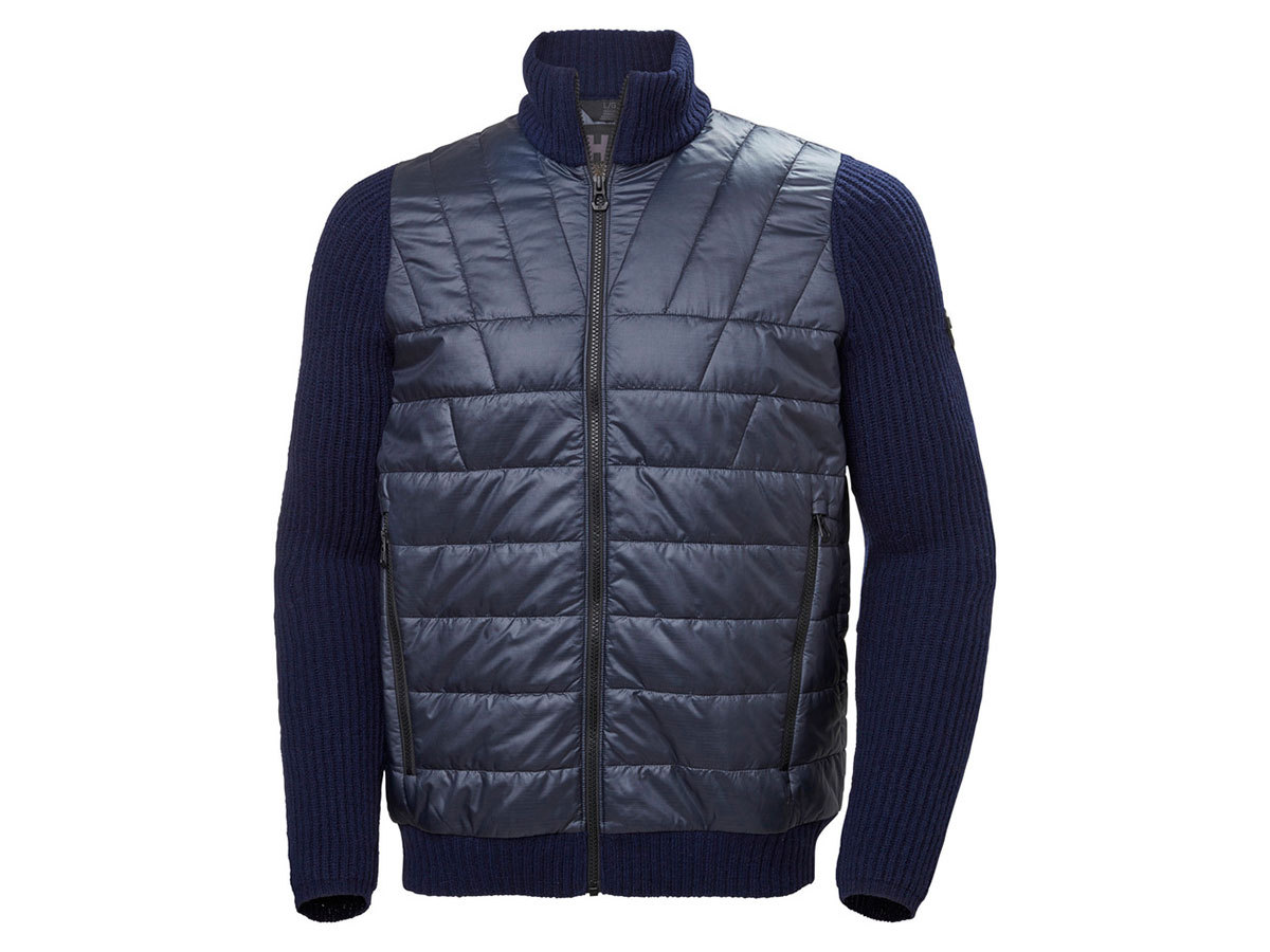 Helly Hansen HOD HYBRID KNIT JACKET - NAVY - L (65694_597-L )