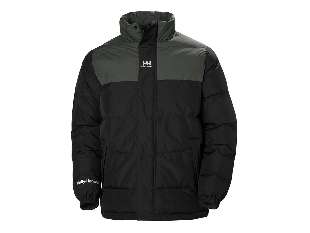 Helly Hansen YU PUFFER JACKET - BLACK - XXL (53380_990-2XL )