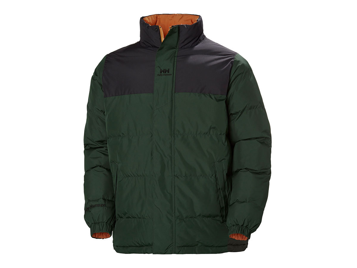 Helly Hansen YU PUFFER JACKET - MOUNTAIN GREEN - L (53380_454-L )