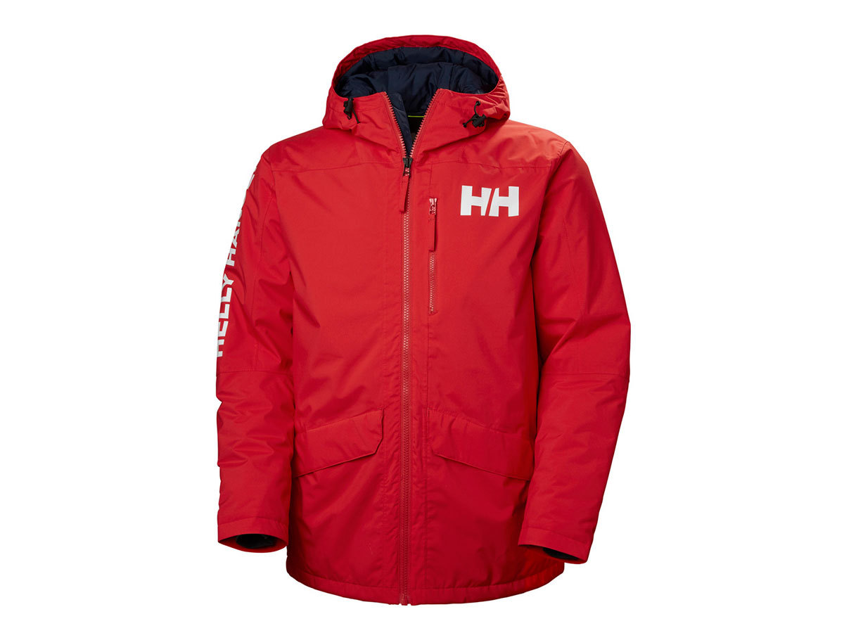 Helly Hansen ACTIVE FALL 2 PARKA - ALERT RED - L (53325_222-L )