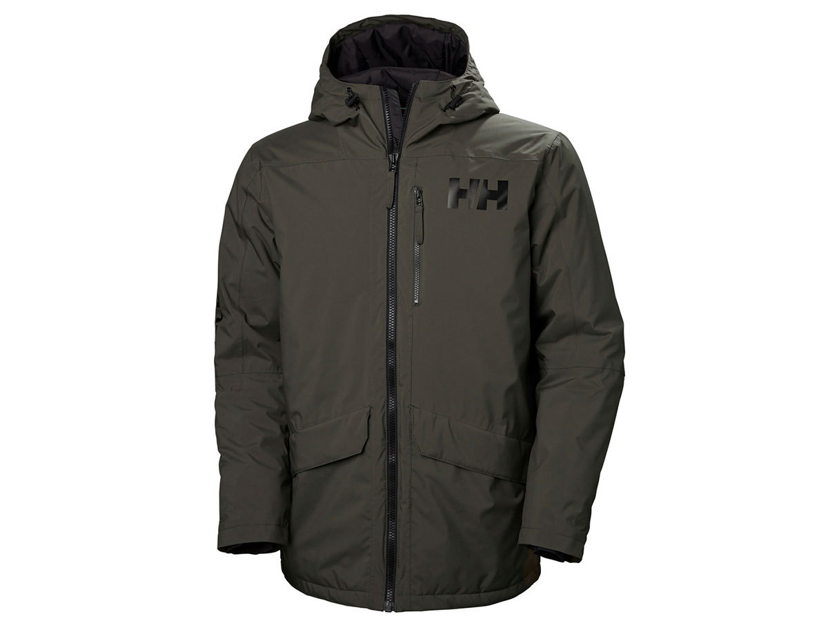 Helly Hansen ACTIVE FALL 2 PARKA - BELUGA - XXL (53325_482-2XL )