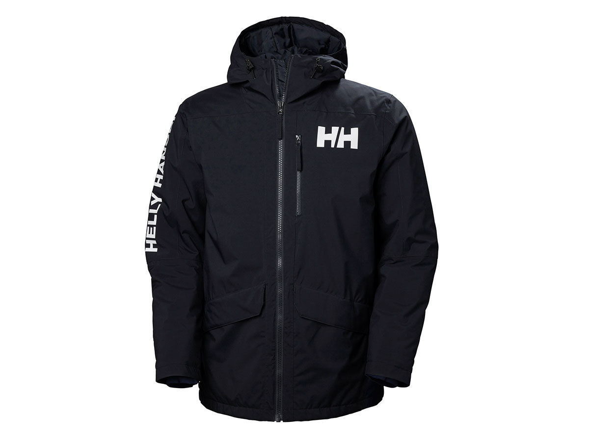 Helly Hansen ACTIVE FALL 2 PARKA - NAVY - L (53325_597-L )