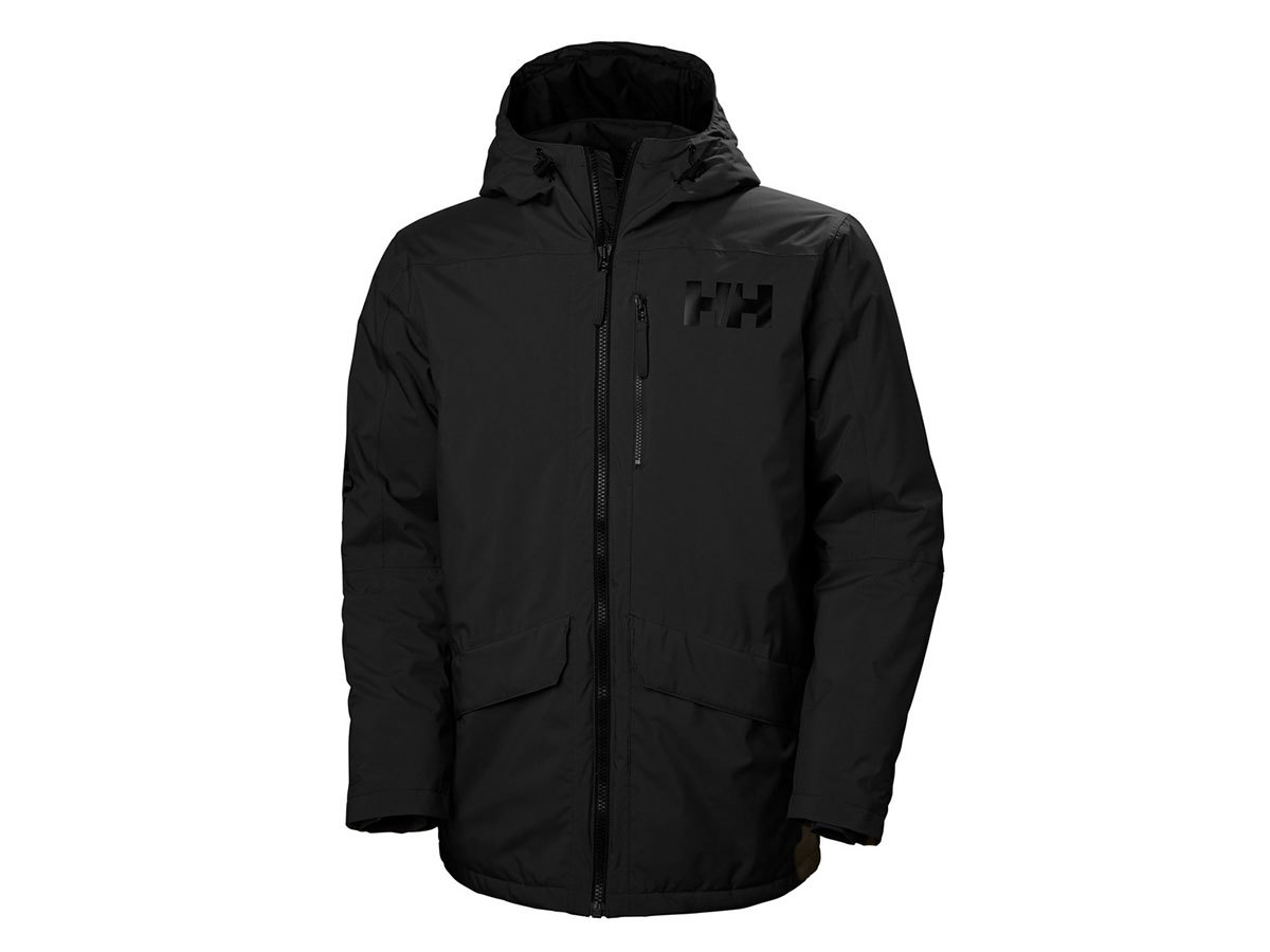 Helly Hansen ACTIVE FALL 2 PARKA - BLACK - XXL (53325_990-2XL )