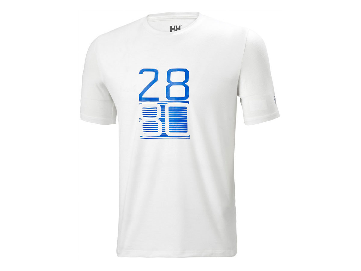 Helly Hansen HP RACING T-SHIRT - WHITE - XL (34053_002-XL )