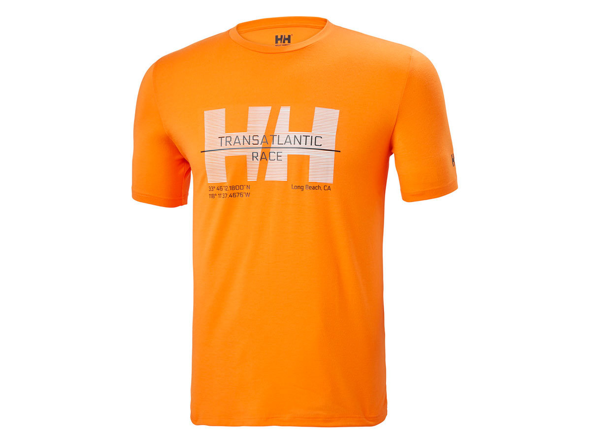 Helly Hansen HP RACING T-SHIRT - PAPAYA - L (34053_322-L )