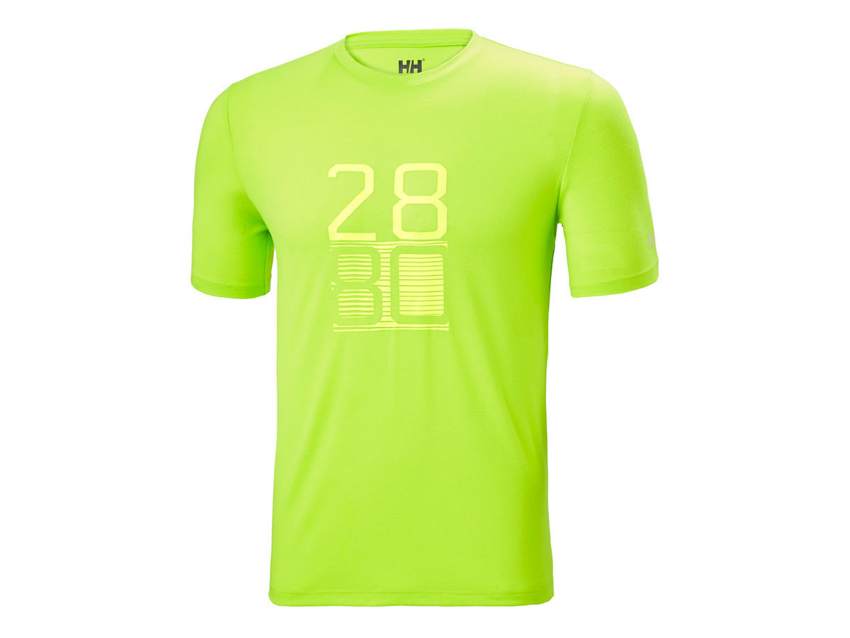Helly Hansen HP RACING T-SHIRT - AZID LIME - XXL (34053_402-2XL )