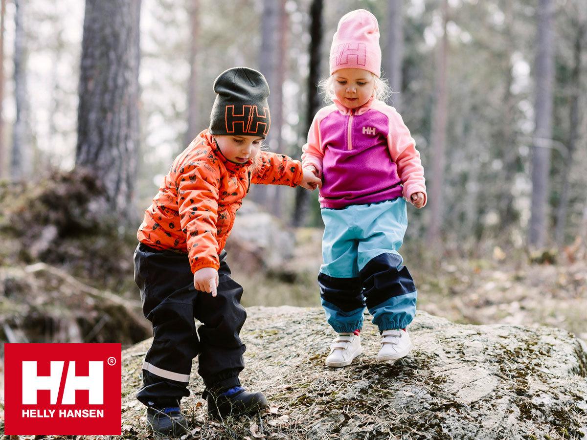 Helly Hansen K SHELTER PANT - gyermek vízálló, szélálló, lélegző nadrágok