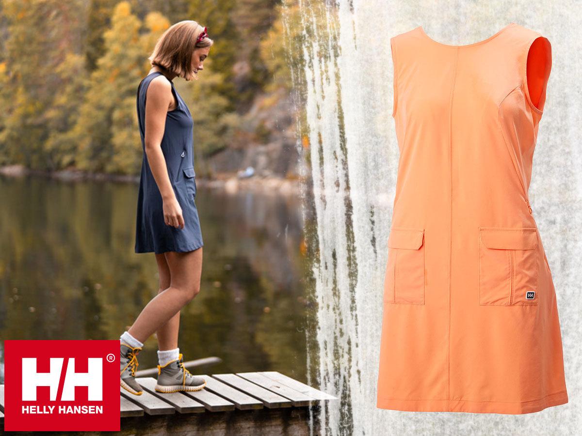Helly Hansen W VIK DRESS - könnyű nyári ruha, puha és gyorsan száradó technikai anyagból