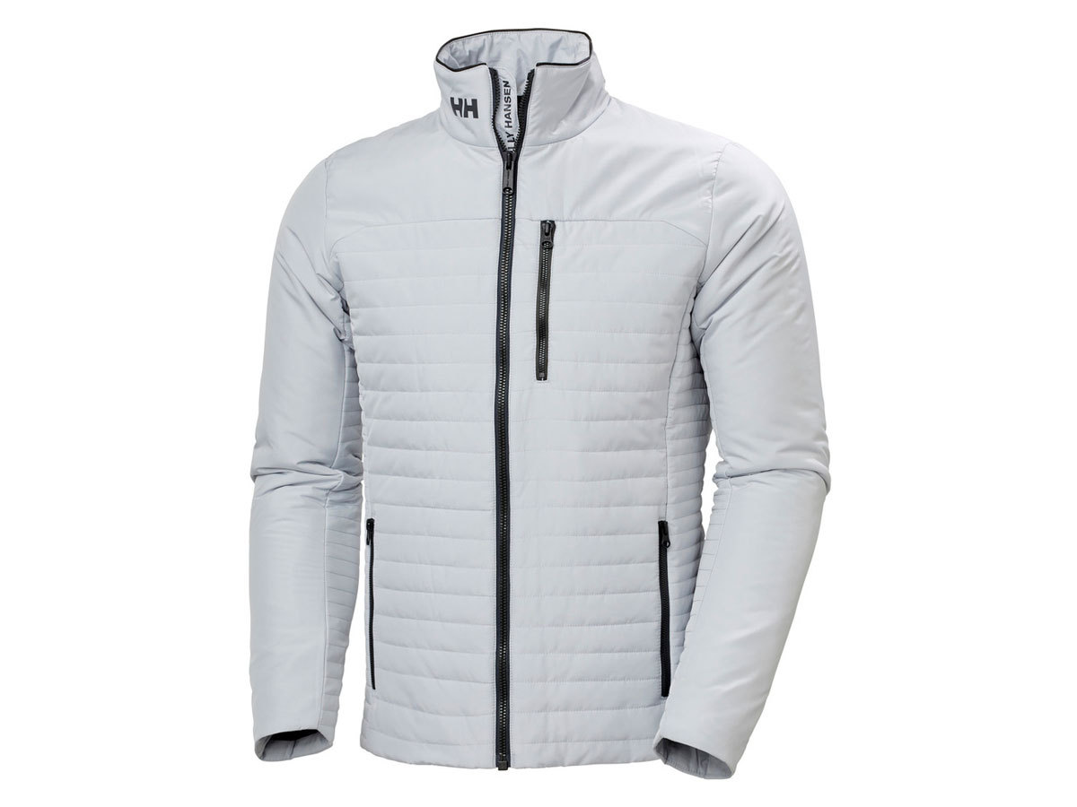 Helly Hansen CREW INSULATOR JACKET - GREY FOG - S (54344_853-S )