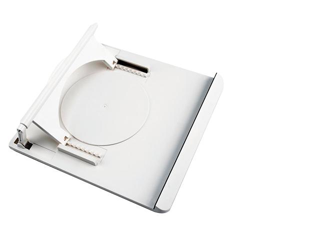 360°- ban forgatható laptoptartó