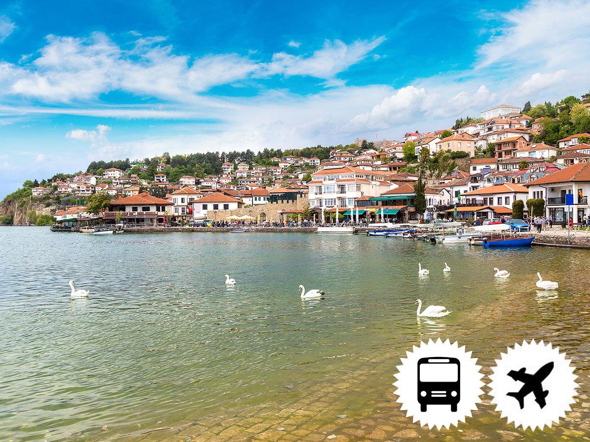 Albánia és Macedónia, Korfu szigetével - szervezett körutazás nyáron 4 éjszaka szállással, félpanziós ellátással, programokkal, buszos transzferekkel (repülőjegy illetékekkel + 65.000 Ft/fő)