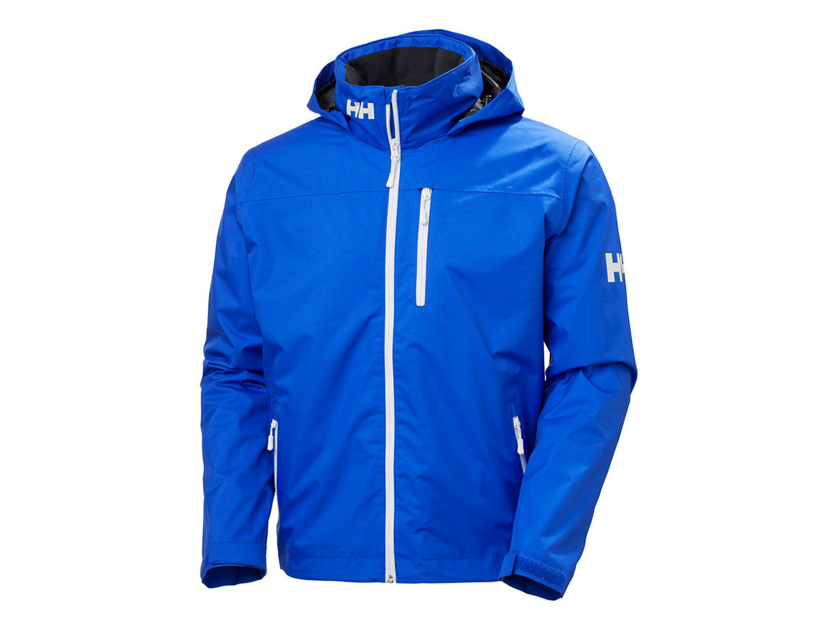 Helly Hansen CREW HOODED MIDLAYER JACKET - ROYAL BLUE - XXL (33874_514-2XL )