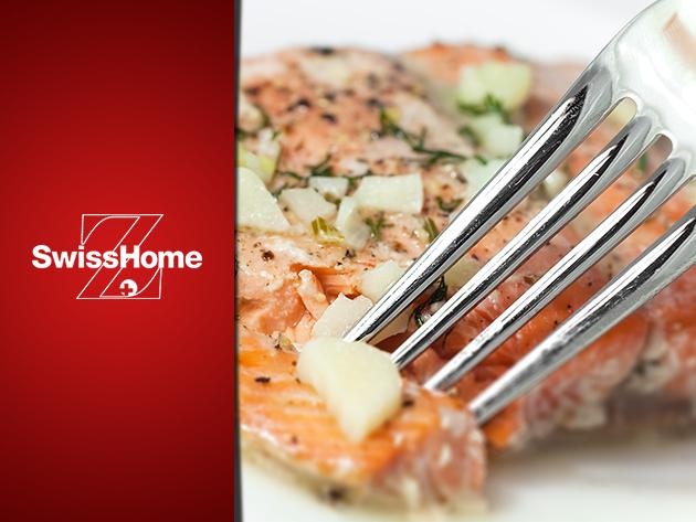 Swiss Home 17 részes edénykészlet az egészségesebb ételekért, és a könnyebb főzésért!