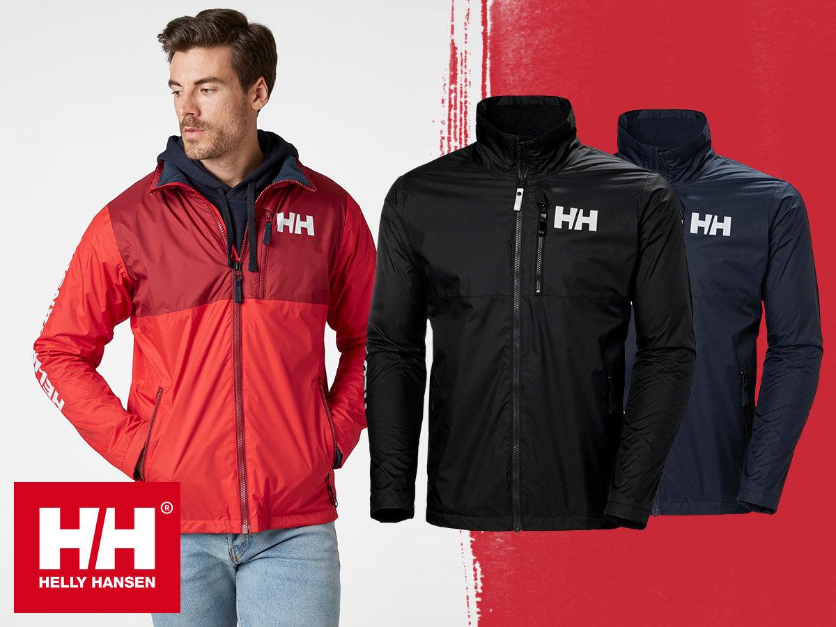 Helly Hansen ACTIVE MIDLAYER JACKET bélelt dzseki férfiaknak - vízálló, könnyű és puha polárbéléssel (S-XXL)
