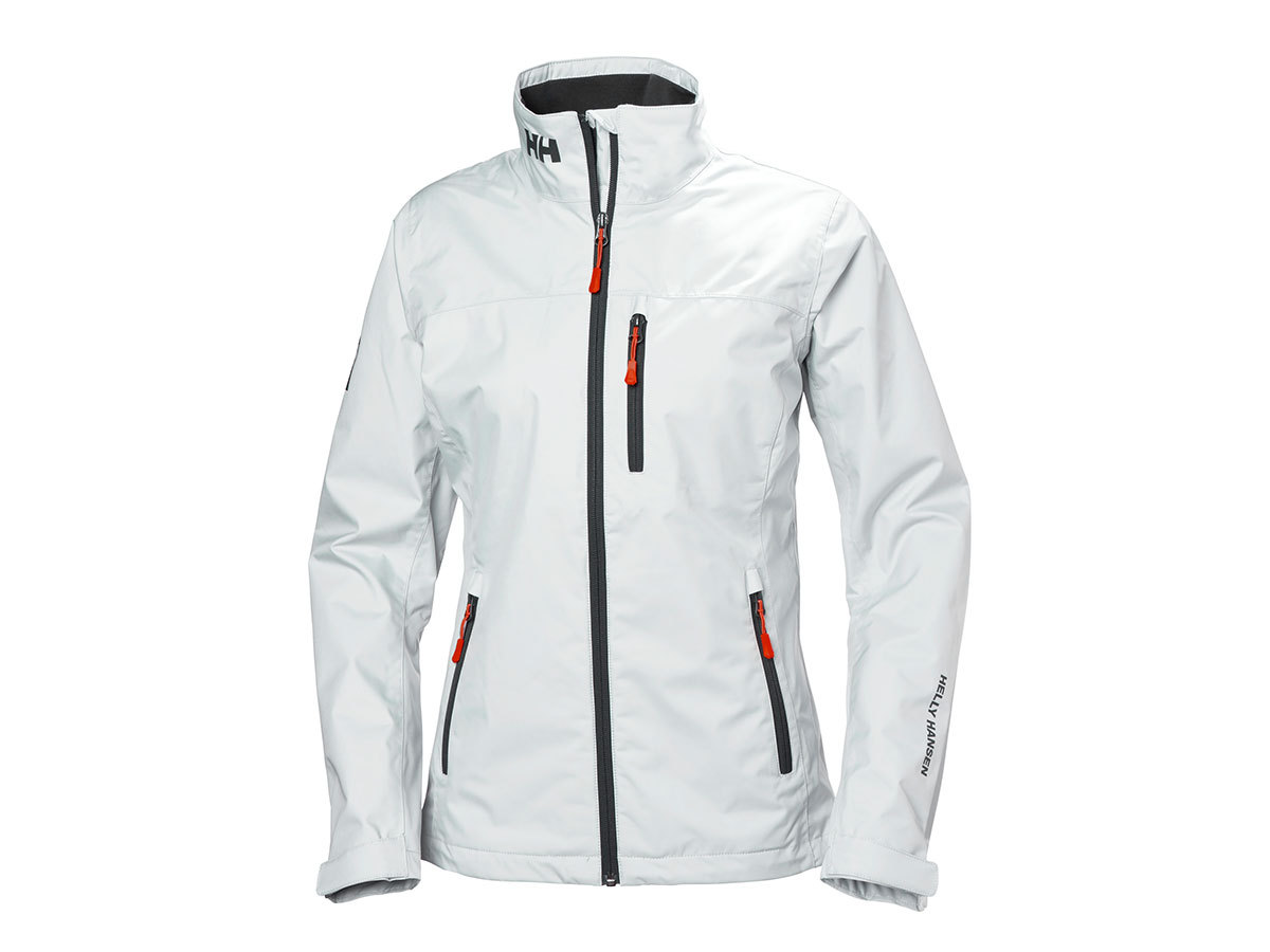 Helly Hansen W CREW JACKET - WHITE - L (30297_002-L )