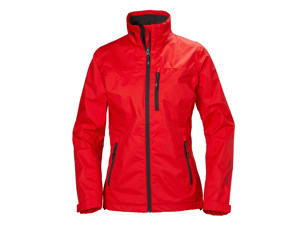 Helly Hansen W CREW JACKET - ALERT RED - L (30297_222-L )