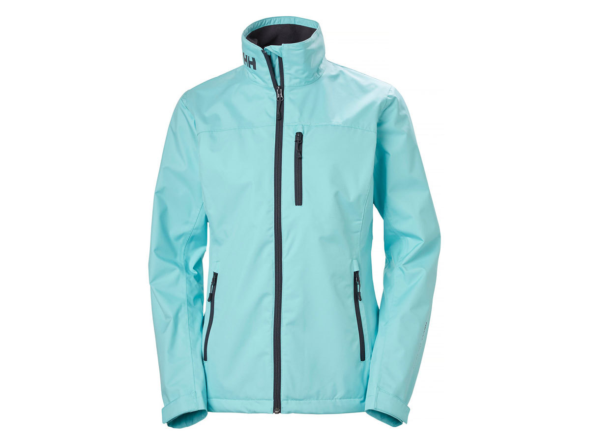 Helly Hansen W CREW JACKET - GLACIER BLUE - XL (30297_648-XL )