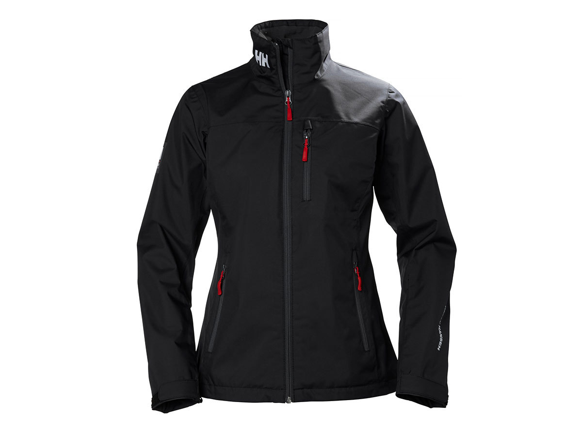 Helly Hansen W CREW JACKET - BLACK - L (30297_991-L )
