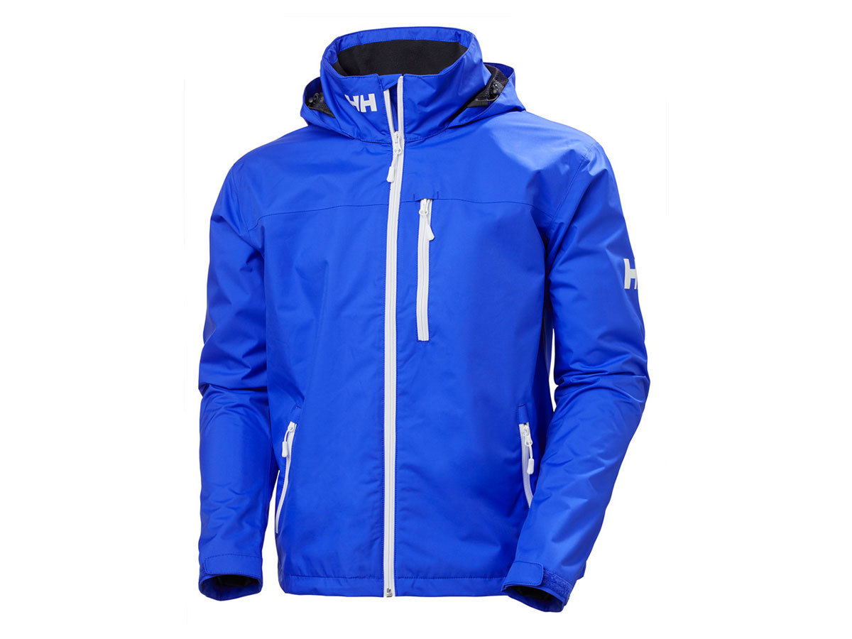 Helly Hansen CREW HOODED JACKET - ROYAL BLUE - XXL (33875_514-2XL )