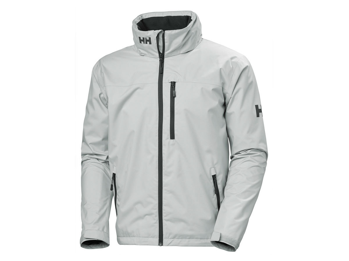 Helly Hansen CREW HOODED JACKET - GREY FOG - XXL (33875_853-2XL )