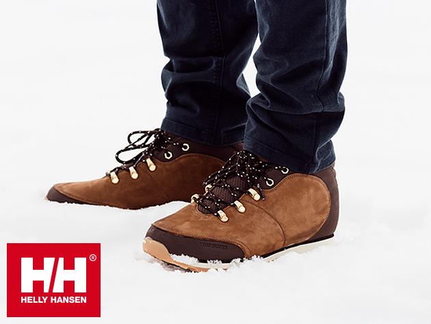 Helly Hansen AVESTA férfi téli cipő prémium bőr felsőrésszel, gyapjú béléssel - időjárás elleni védelmet biztosít (42-44.5)