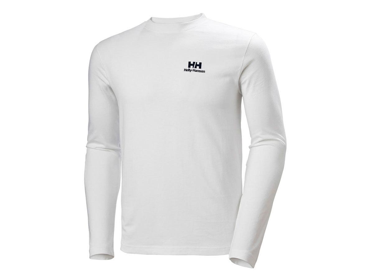 Helly Hansen YU20 LS T-SHIRT - WHITE - L (53465_001-L )