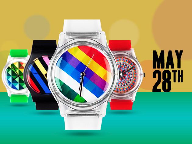 May 28th – különleges, egyedi tervezésű designer órák 11.000 Ft helyett 4.500 Ft-ért!