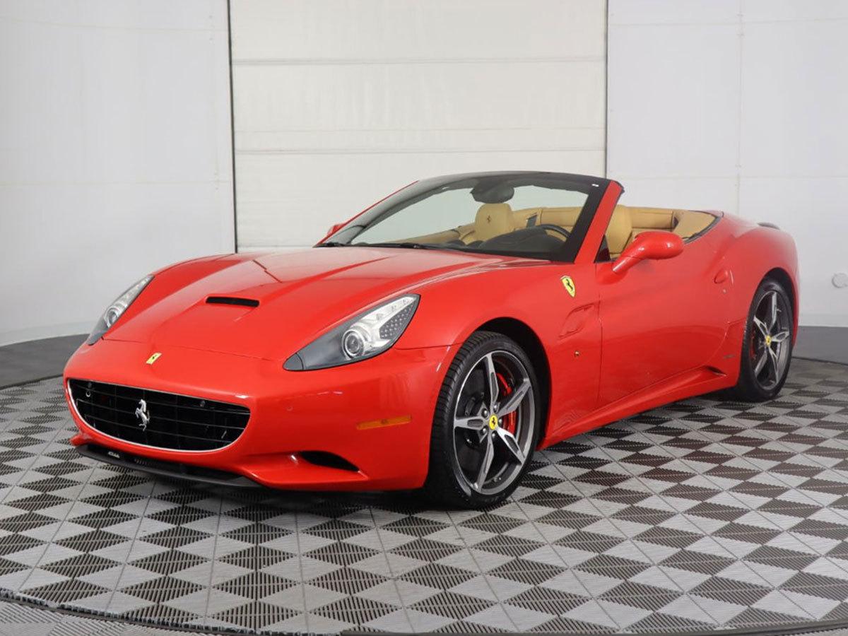 Városi (közúti) vezetés egy Ferrari California-val 60 perc