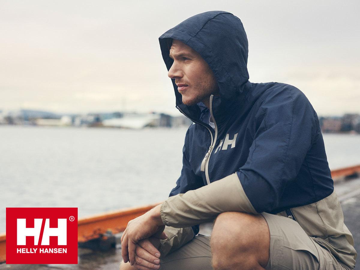 Helly Hansen ACTIVE WINDBREAKER JACKET - kapucnis vízlepergető széldzseki (S,XL,XXL)