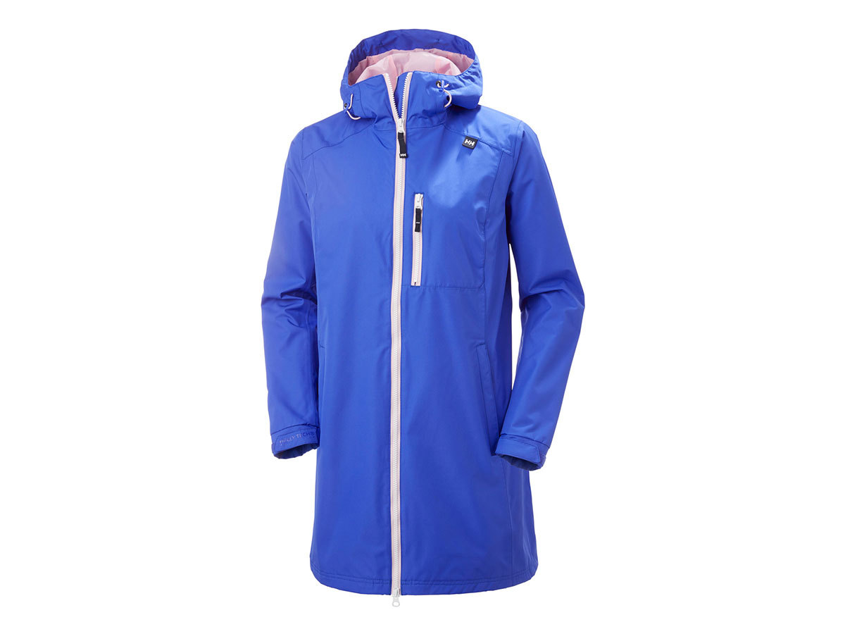 Helly Hansen W LONG BELFAST JACKET - ROYAL BLUE - XXXL (55964_514-3XL )