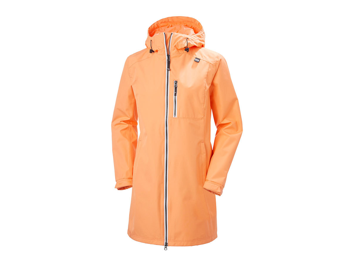 Helly Hansen W LONG BELFAST JACKET - MELON - L (55964_071-L )