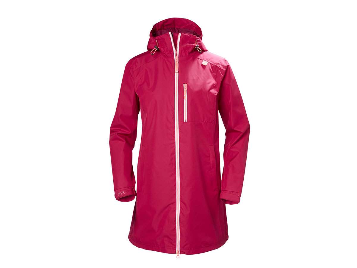 Helly Hansen W LONG BELFAST JACKET - PERSIAN RED - XS (55964_183-XS )