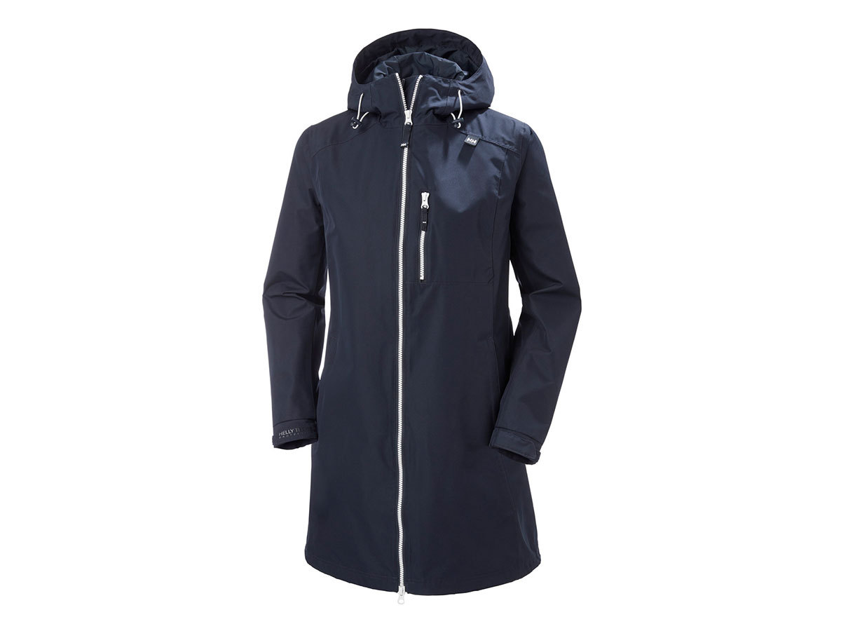 Helly Hansen W LONG BELFAST JACKET - NAVY - XS (55964_597-XS )