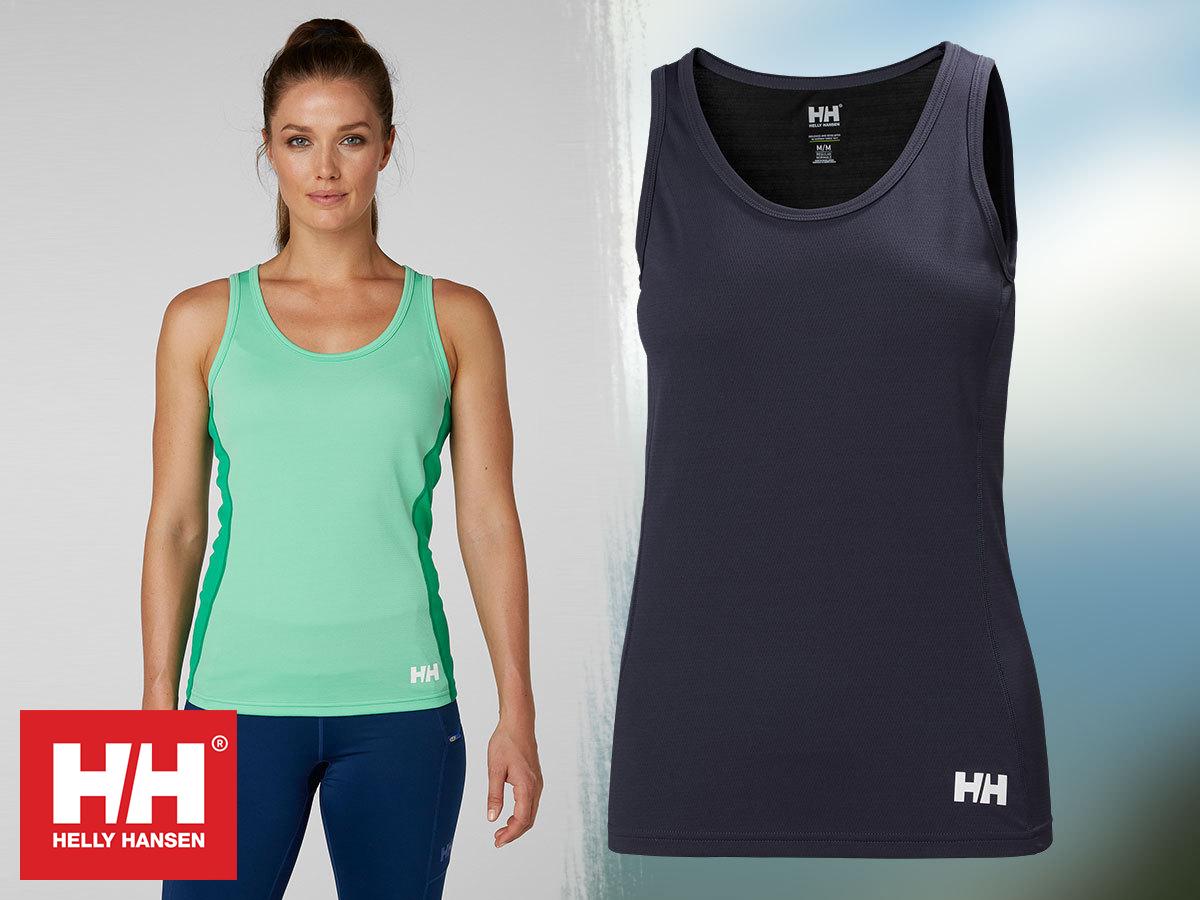 Helly Hansen W HH LIFA ACTIVE LIGHT SINGLET női felső jól szellőző és gyorsan száradó anyagból (XS-XL)